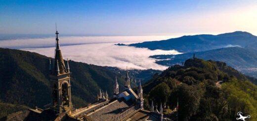 Il Santuario di Montallegro a Rapallo